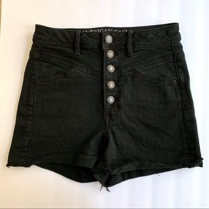 AEO • 2 • Super Stretch 5 Button Fly Jean Shorts